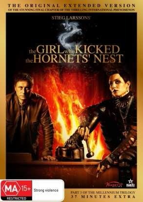 The Girl Who Kicked The Hornets' Nest - Extended Version on DVD