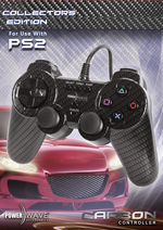 Powerwave Controller Carbon for PlayStation 2