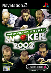 World Champ Snooker 2003 for PS2