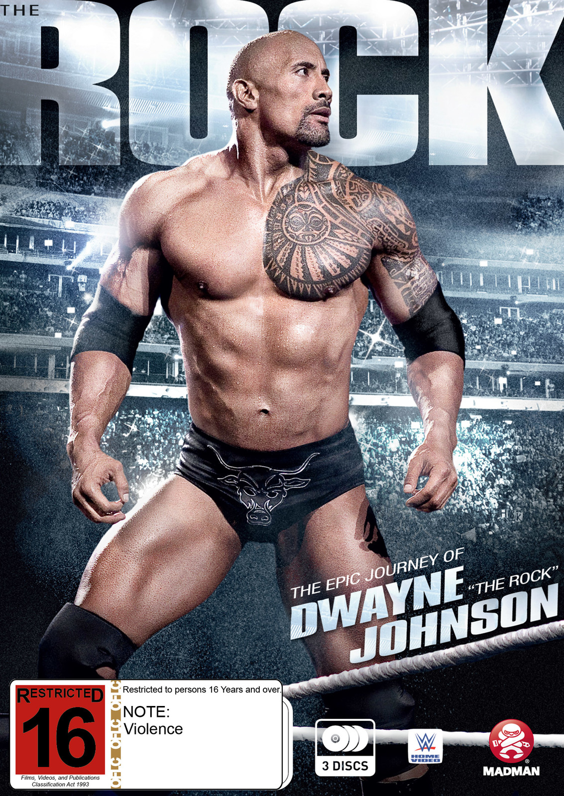 WWE: The Rock: The Epic Journey Of Dwayne Johnson on DVD image
