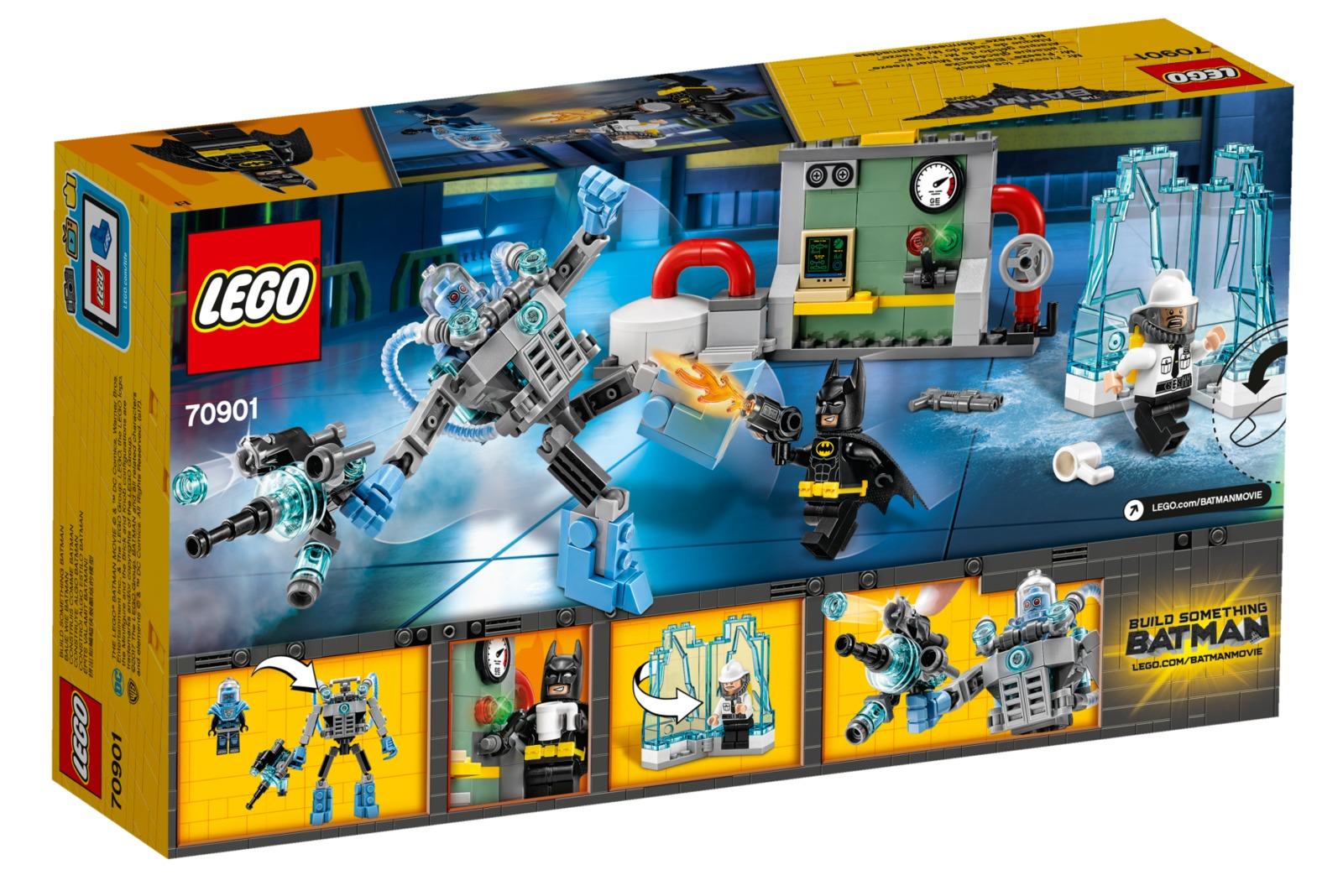 LEGO Batman Movie - Mr. Freeze Ice Attack (70901) | Toy