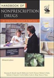 Handbook of Nonprescription Drugs by Rosemary R Berardi image