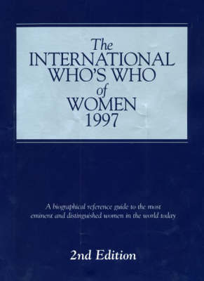 The International Who's Who of Women by Europa Publications image