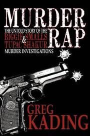 Murder Rap by Greg Kading