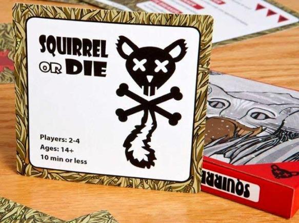Squirrel or Die - Card Game
