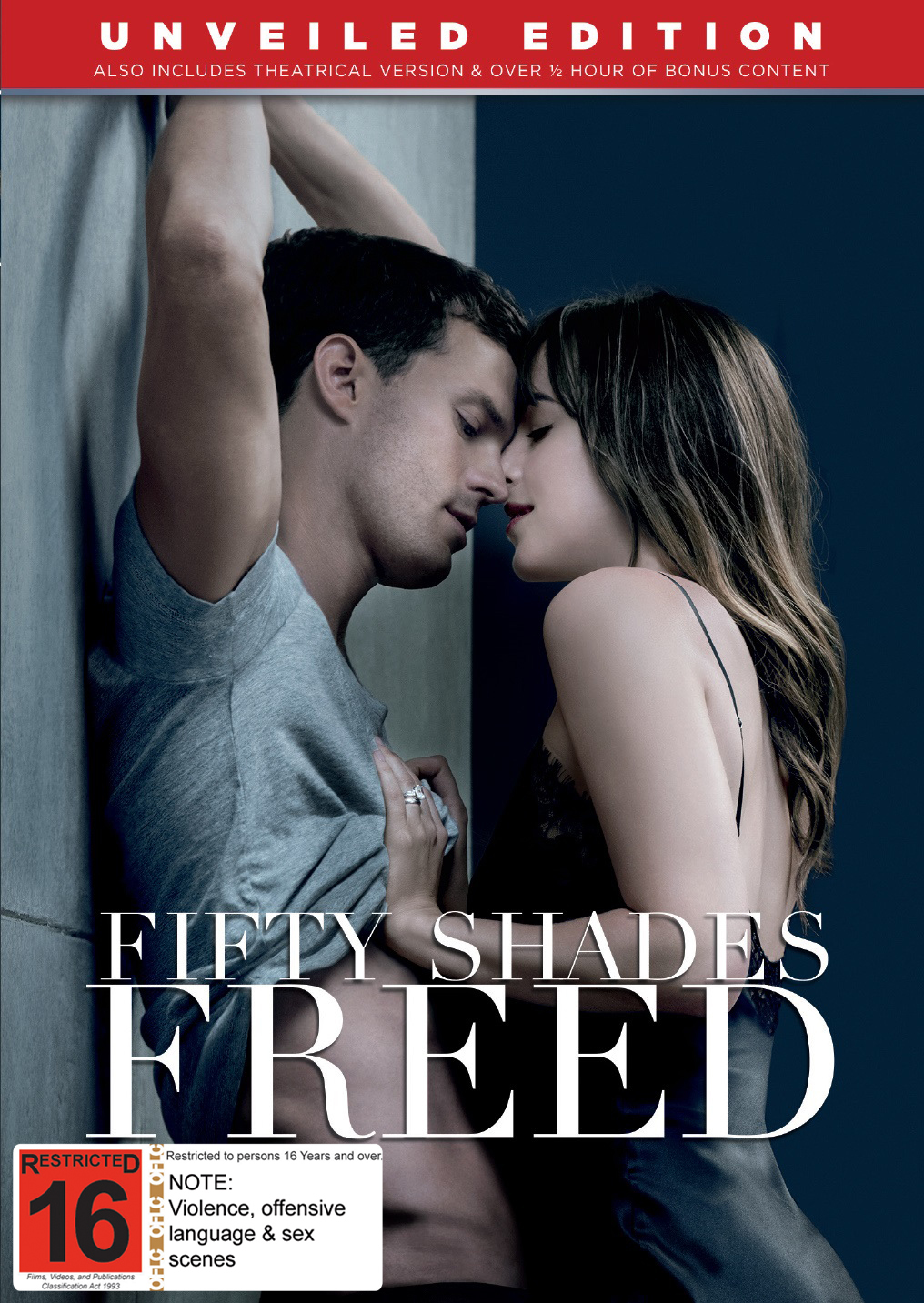 Fifty Shades Freed on DVD image