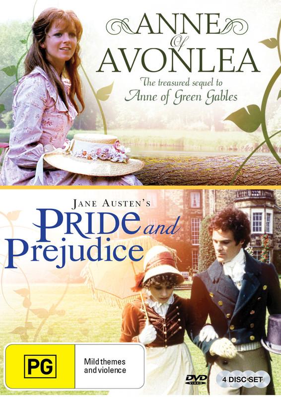 BBC Double Pack - Pride & Prejudice/Anne Of Avonlea on DVD