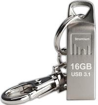 Strontium 16GB Ammo Metallic USB 3.1 Drive