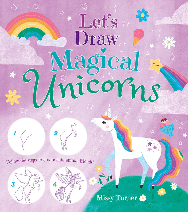 How to Draw Magical Unicorns - Drawing Book