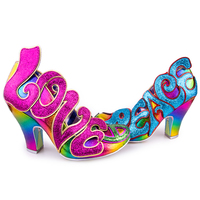Irregular Choice: Choose Love - Pink Multi (Size 38)