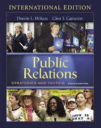 Public Relations: Strategies and Tactics by Glen Cameron image