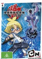 Bakugan - Heroes Rise: Vol 4 on DVD