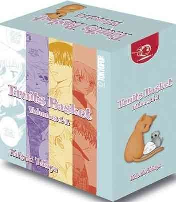 Fruits Basket, Vols. 1-4 BOX SET by Natsuki Takaya