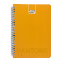 Pantone: Spiral Notebook A5 Ruled - Flame Orange
