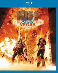 Rocks Vegas on Blu-ray by Kiss