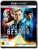 Star Trek Beyond (4K UHD + Blu-ray) DVD