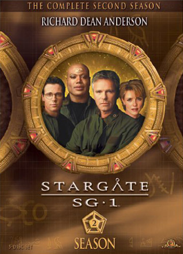 Stargate SG-1 - Season 2 on DVD image