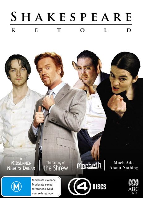 Shakespeare Retold Collection, The (4 Disc Box Set) on DVD image