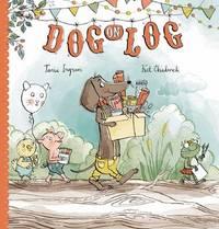 Dog on Log by Tania Ingram image