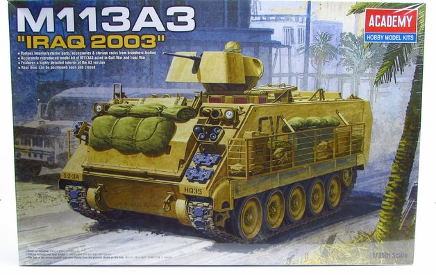 Academy 1/35 M113A3 Scale Model Kit