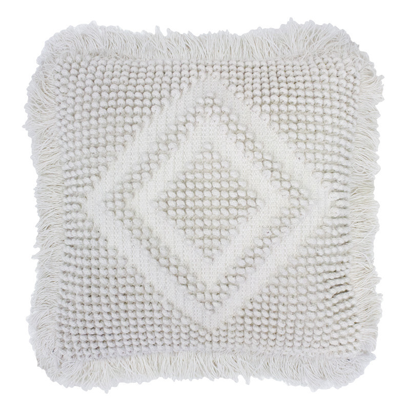 Timma Cushion (Ivory) image