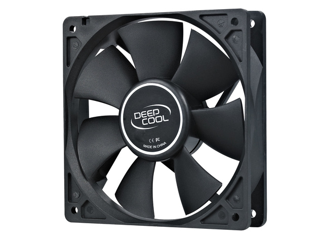 Deepcool: 120mm Hydro Bearing Case Fan with 4-pin Molex Connector