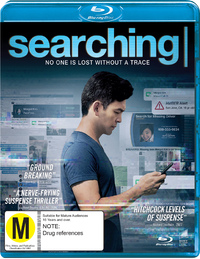 Searching (2018) on Blu-ray