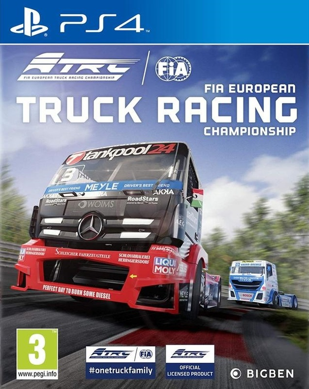 FIA European Truck Racing Championship for PS4