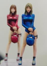 1/20 Mercenary Woman Space Pilot A Inner Suit Ver.