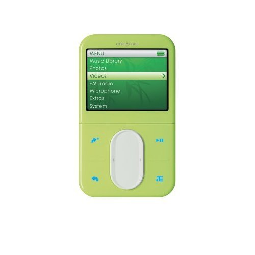 CREATIVE LABS Creative Zen Vision M 30GB Green MP3 Player  SE Version (Does not include Travel Adapter)