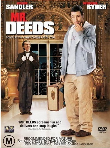 Mr Deeds on DVD