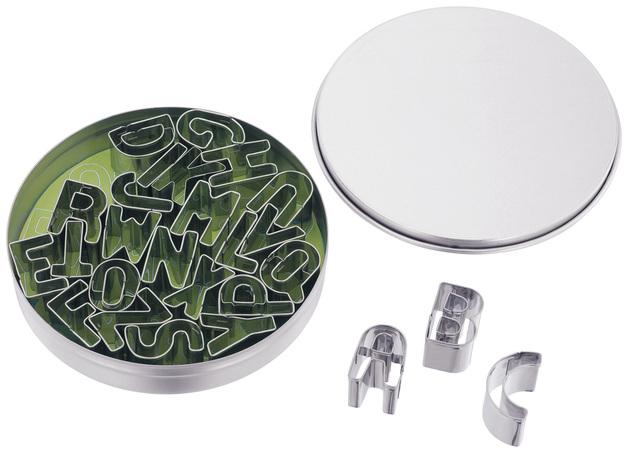 Judge Bakeware - Set 26 Small Alphabet Cutters