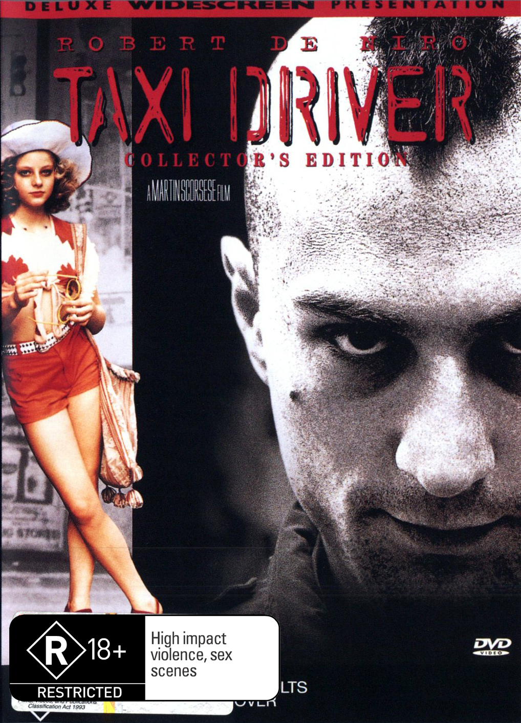 Taxi Driver (1976) (Collector's Edition) on DVD image