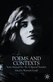 Poems and Contexts: Annual 16 image