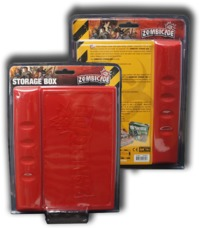Zombicide: Storage Box - Red