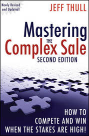 Mastering the Complex Sale by Jeff Thull image