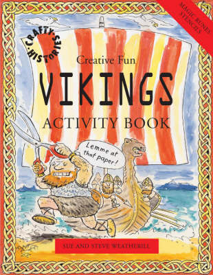 Vikings Activity Book by Sue Weatherill