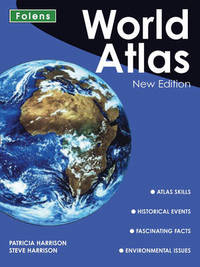 World Atlas by Patricia Harrison image