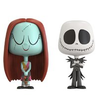 Sally + Jack Skellington - Vynl. Figure 2-Pack