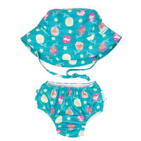 Bumkins: Swim Set - Mermaids (Small/6-12 Months)