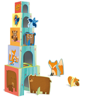 Sassi Junior: Baby Animals of the Forest - Stacking Blocks