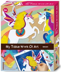 Avenir: My Tissue Work Of Art Kit - Unicorn
