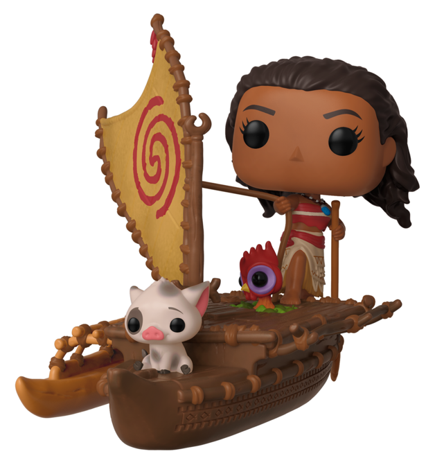 Disney: Moana & Pua on Boat - Pop! Rides Figure