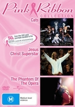 Cats / Jesus Christ Superstar / The Phantom Of The Opera (2004) - Pink Ribbon Collection (3 Disc Set)   on DVD