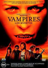 Vampires - Los Muertos on DVD