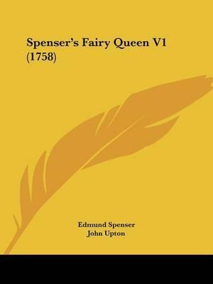 Spenser's Fairy Queen V1 (1758) by Edmund Spenser image