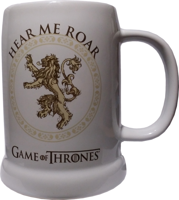 Game of Thrones Lannister Ceramic Stein