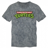 TMNT Logo Charcoal Heather T-Shirt (M)