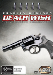 Death Wish - The Vigilante Collection (5 Disc Box Set) on DVD