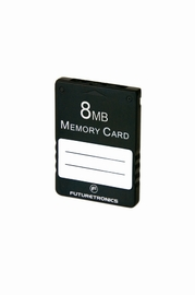 Futuretronics 8 MB Memory Card for PlayStation 2 image